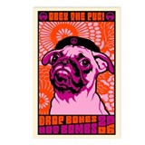 PUG Peace Postcards (Package of 8)