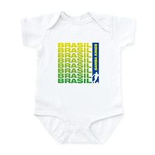 brasil samba kings Infant Bodysuit