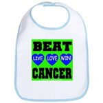 Beat Cancer! Live Love Win! Bib