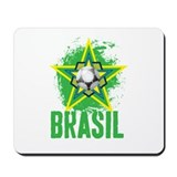 brazil star Mousepad