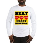 Live Love Win Beat Heart Dise Long Sleeve T-Shirt