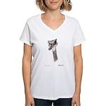 Rhea on Women's V-Neck T-Shirt