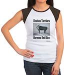 Boston Terriers Nervous But Nice - Women's T-Shirt