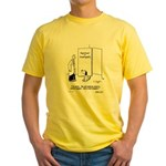 Whale Tagger / Tail Wagger Yellow T-Shirt