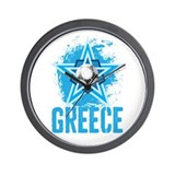 greek star Wall Clock