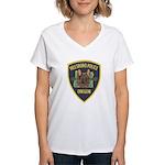 Hillsboro Police Canine Women's V-Neck T-Shirt