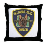 Hillsboro Police Canine Throw Pillow