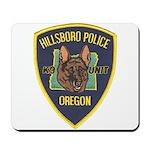 Hillsboro Police Canine Mousepad