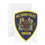 Hillsboro Police Canine Greeting Card