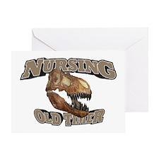 Nursing Old Timer Greeting Card