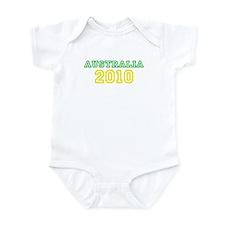 socceroos 2010 Infant Bodysuit
