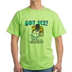 Global Warming Green T-Shirt