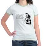 Countless Hours Jr. Ringer T-Shirt