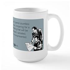 Countless Hours Large Mug
