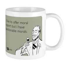 Questionable Morals Mug