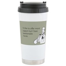 Questionable Morals Stainless Steel Travel Mug