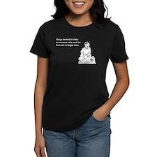 Happy Belated Birthday Women's Dark T-Shirt