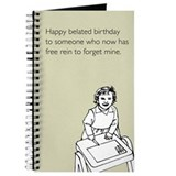 Happy Belated Birthday Journal