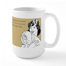 Doggie Style Large Mug