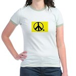 PEACE PERIOD ! Jr. Ringer T-Shirt