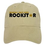 World's Best Dad Rockstar Cap