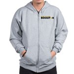 World's Best Dad Rockstar Zip Hoodie