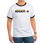World's Best Dad Rockstar Ringer T