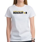 World's Best Dad Rockstar Women's T-Shirt