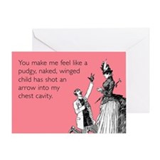 Cupid's Arrow Greeting Card