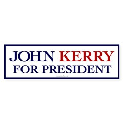 John Kerry for President Bumper Sticker