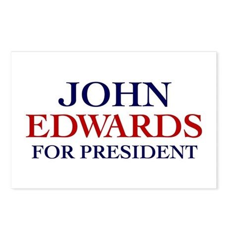 John Edwards for President Postcards (Pack of 8)