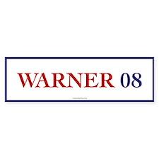 Warner 08 Bumper Bumper Sticker