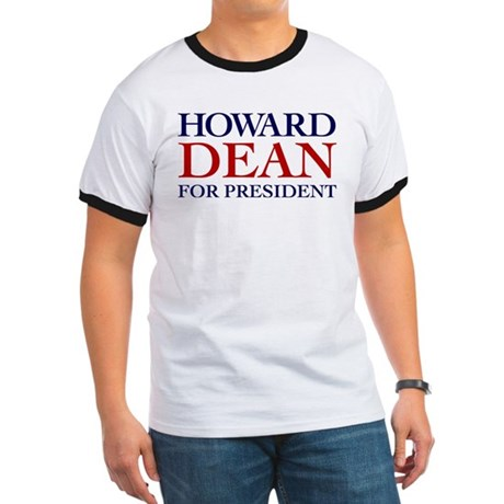 Howard Dean for President Ringer T