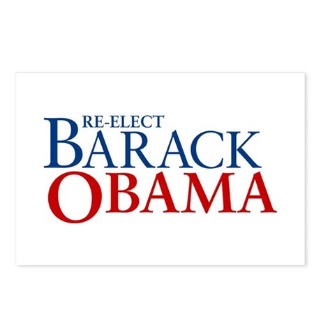 Barack Obama for President Postcards (Pack of 8)