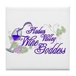 Hudson Valley Wine Goddess Tile Coaster