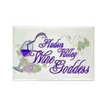 Hudson Valley Wine Goddess Rectangle Magnet