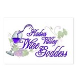 Hudson Valley Wine Goddess Postcards (Package of 8