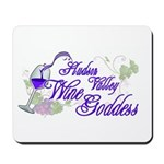 Hudson Valley Wine Goddess Mousepad