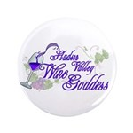 "Hudson Valley Wine Goddess 3.5"" Button (100 p"