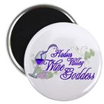 "Hudson Valley Wine Goddess 2.25"" Magnet (10 p"