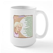 A Gorgeous Grandma Is... Large Mug