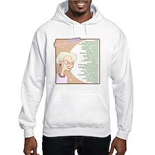A Gorgeous Grandma Is... Hooded Sweatshirt