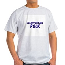 Cosmopolitans Rock Ash Grey T-Shirt
