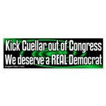 Kick Cuellar out of Congress Bumpersticker