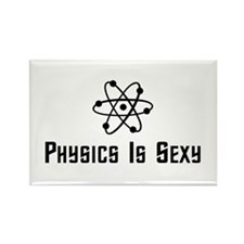 Physics Is Sexy Rectangle Magnet