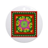 Nature Mandala Ornament (Round)