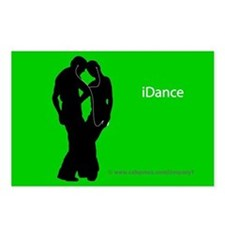 iDance Postcards (Package of 8)