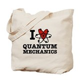 I Love Quantum Mechanics Tote Bag