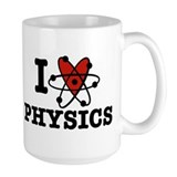 I Love Physics Coffee Mug