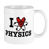 I Love Physics Small Mug